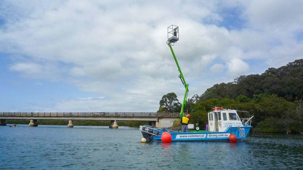 Boat Elevated Work Platform High