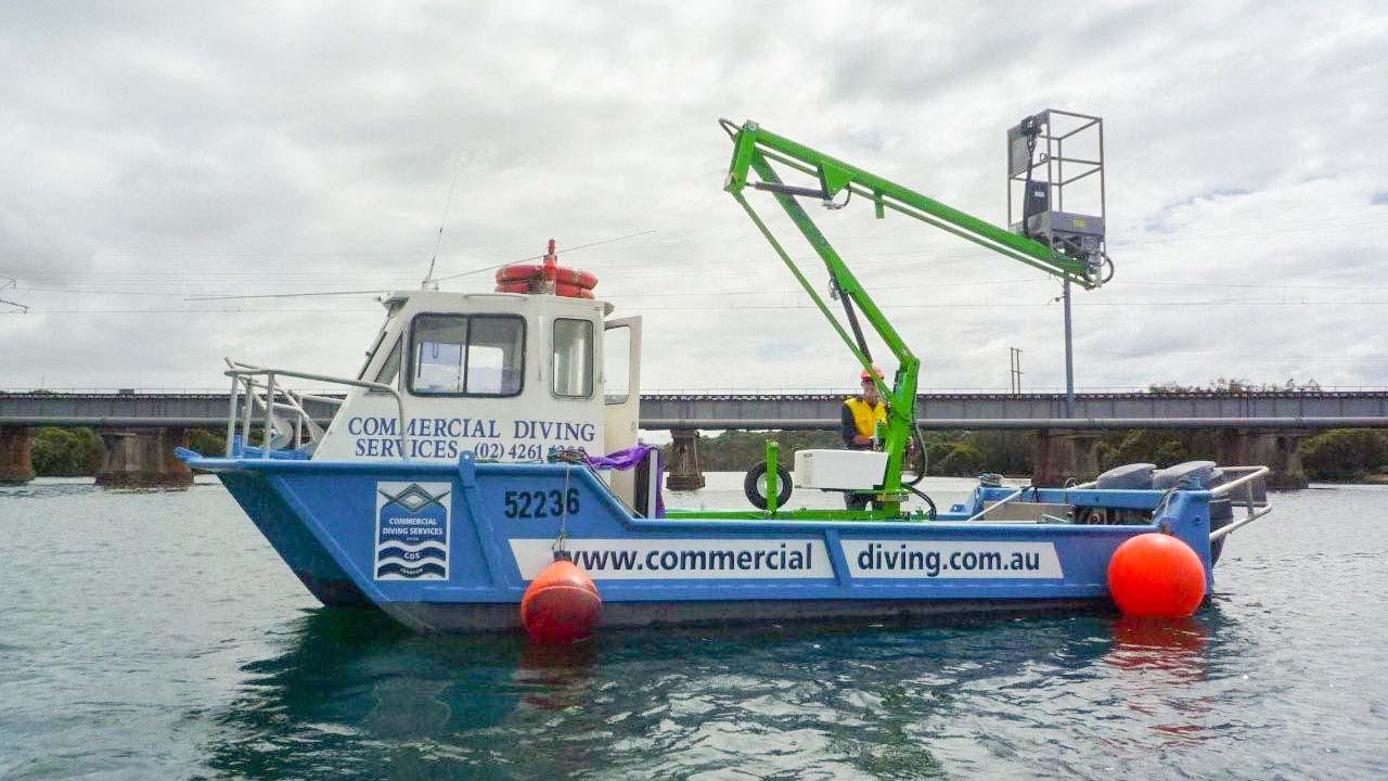 Boat Elevated Work Platform Low