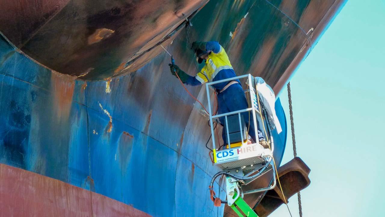 Boat Elevated Work Platform Ship