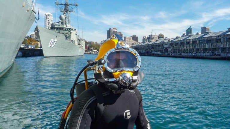 Commercial Diver Tim Johnson