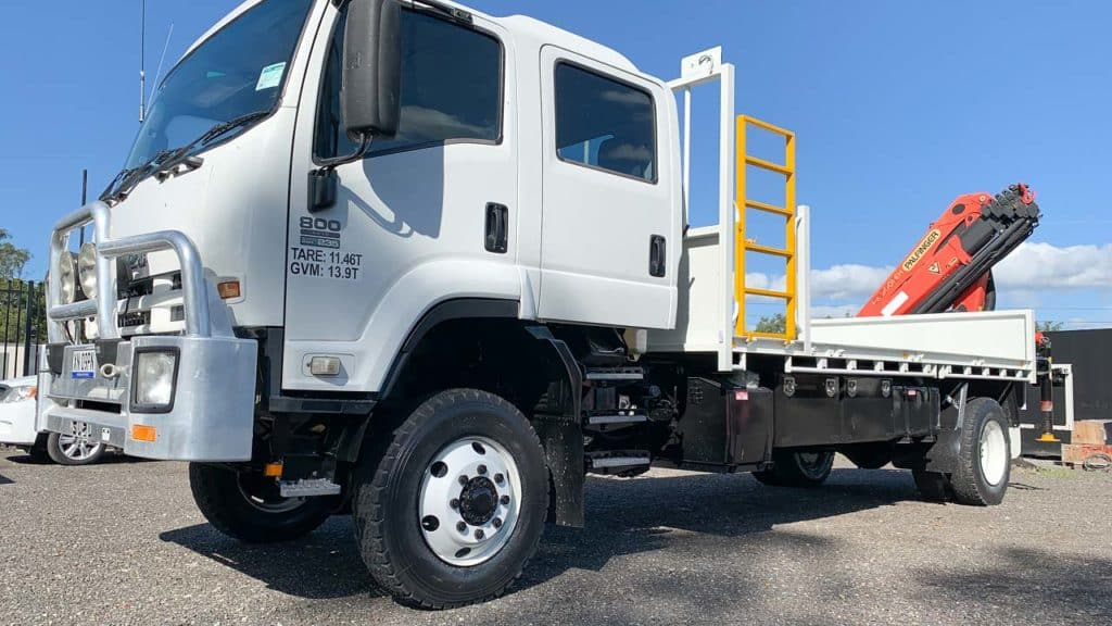 Commercial Diving Company 4WD Truck with Crane
