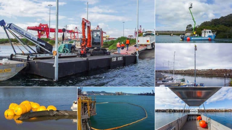 Commercial Marine Equipment Hire