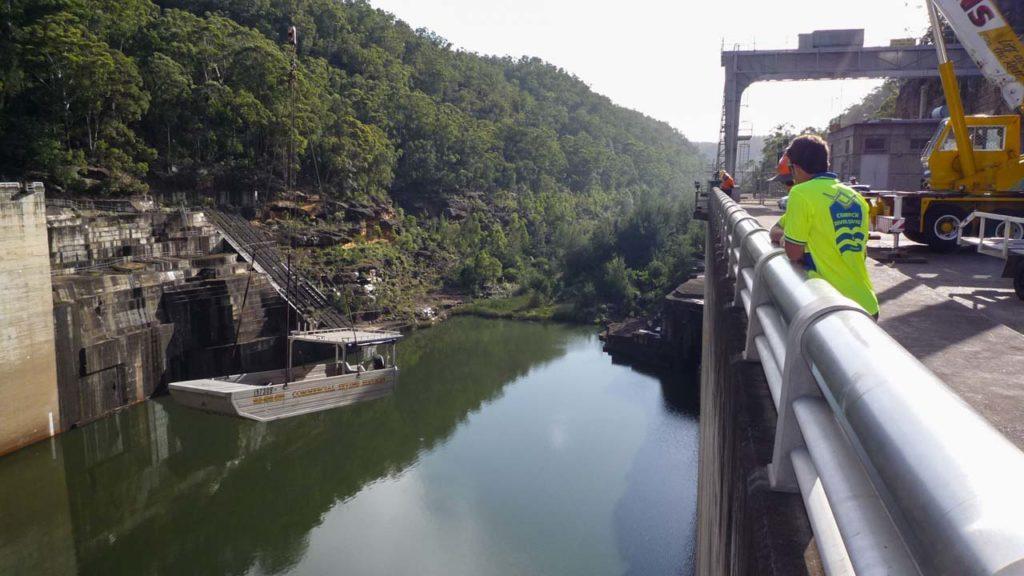 Dam Boat Launch