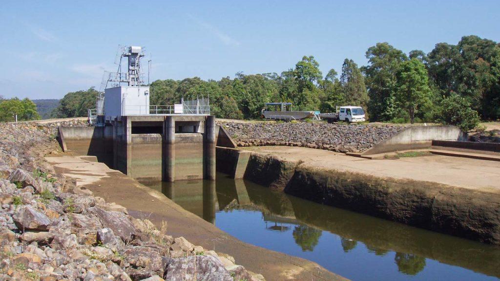 Dam Preparing To Launch Boat