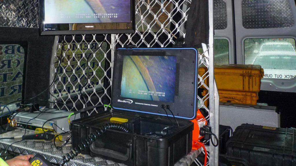 Dam ROV Control Monitor