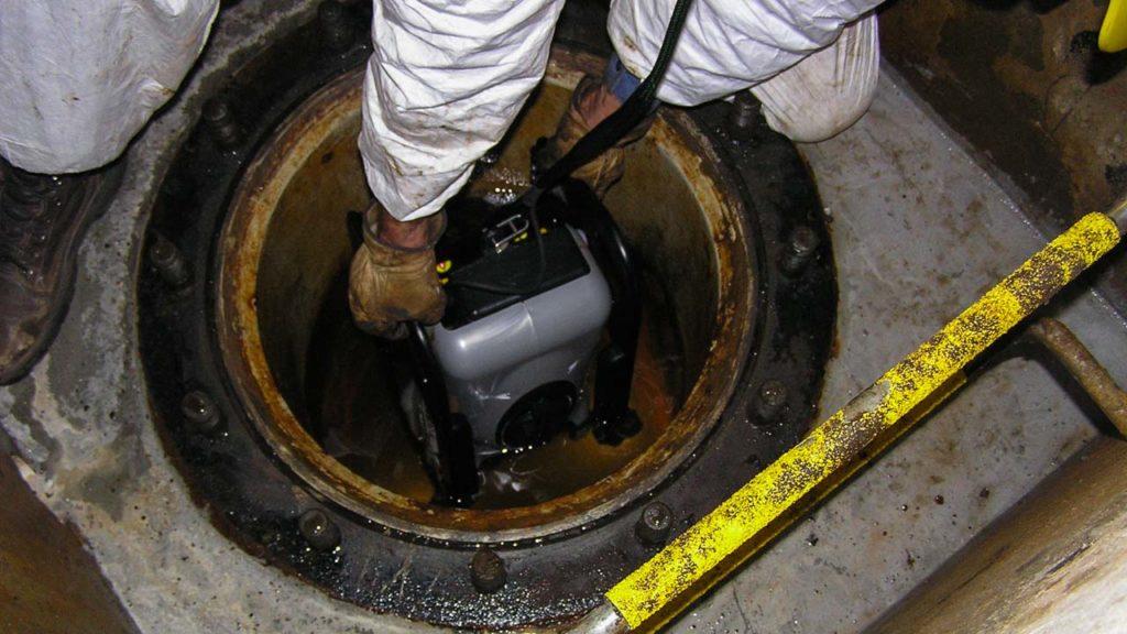 Dam Pipeline ROV Inspection