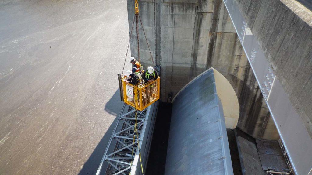 Dam Wall Crew Access