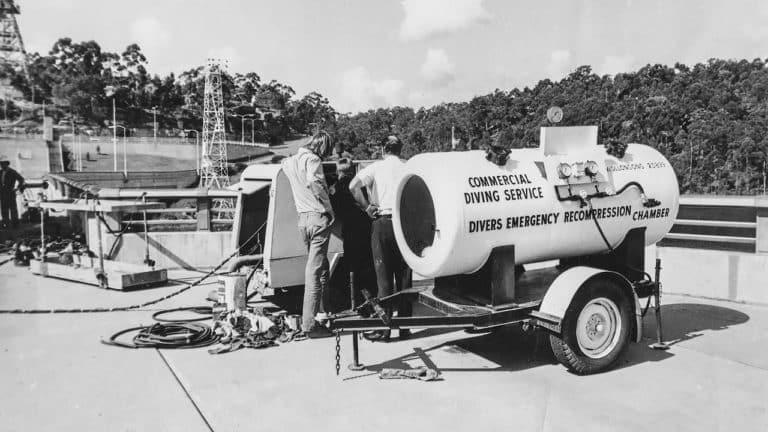 Deep Diving Decompression Chamber 1971