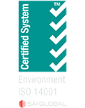 Environmental Systems Approved Certification