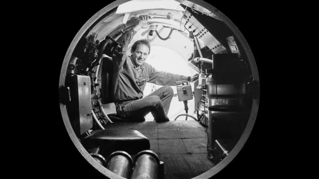 Keith Johnson Inside Submarine