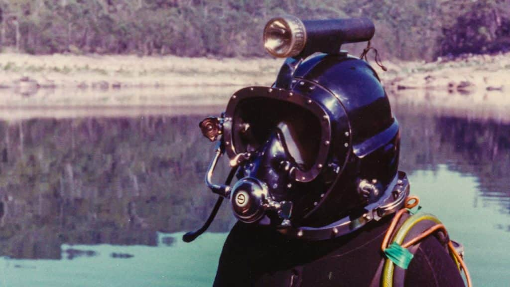 Neil Johnson Diver Helmet