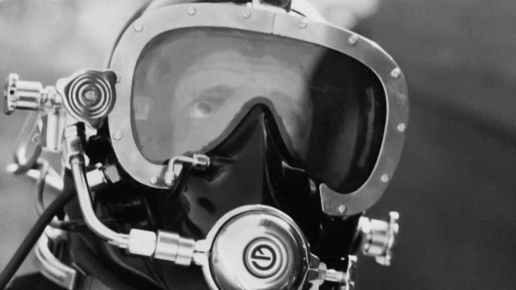 Neil Johnson Diving Mask