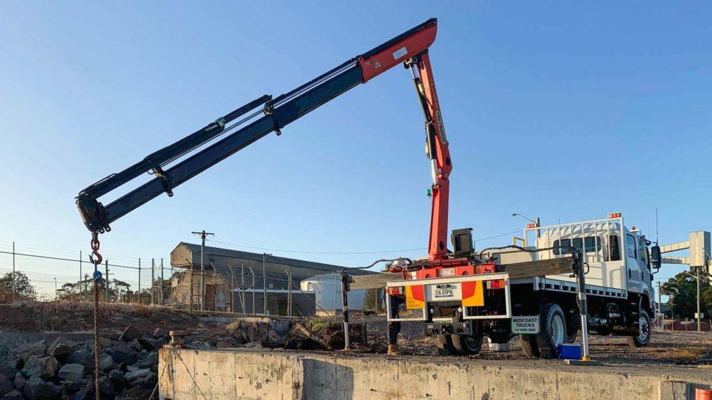 New 4WD Truck Crane Operation