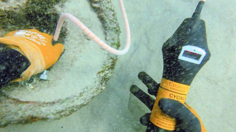 Non Destructive Testing Underwater