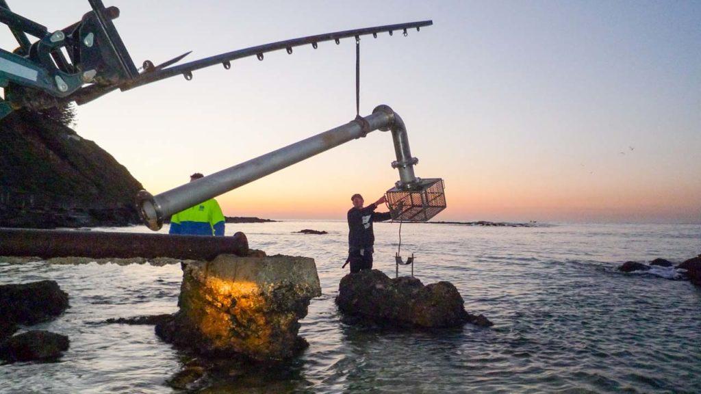 Pipeline Intake Installation