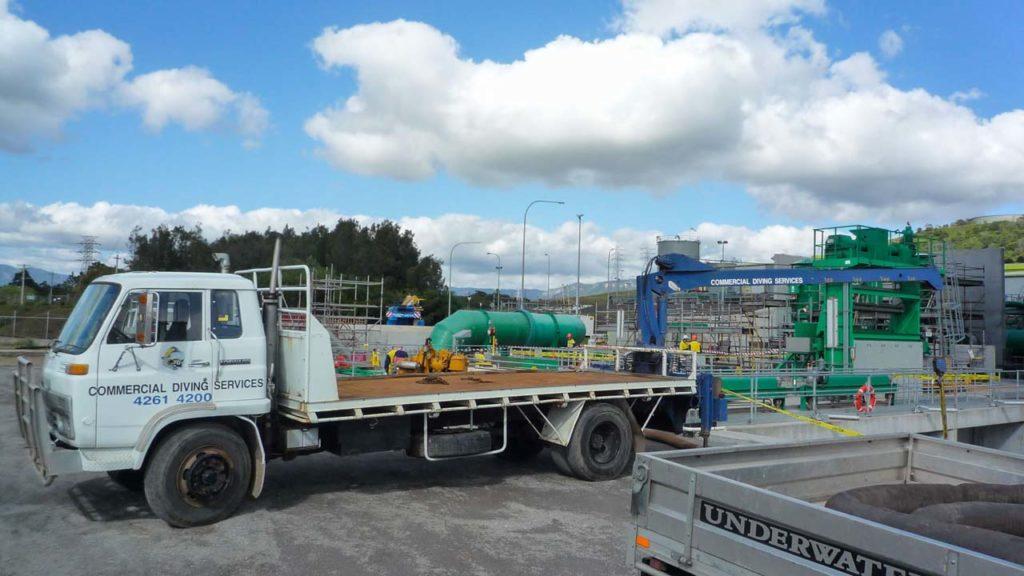 Power Station Truck Crane