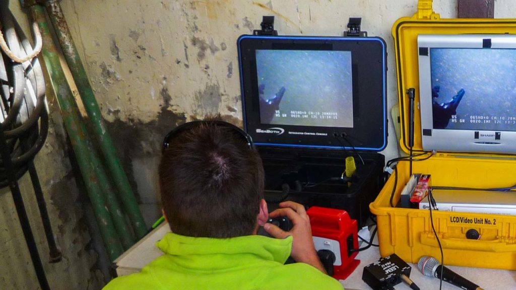 Remote Operated Vehicle Control
