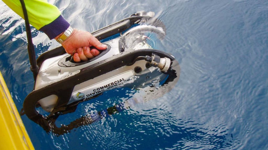 Remote Operated Vehicle Ocean