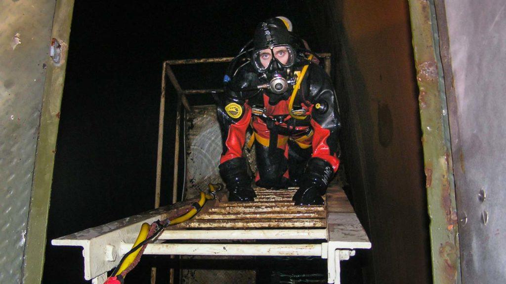 Reservoir Diver Inspection