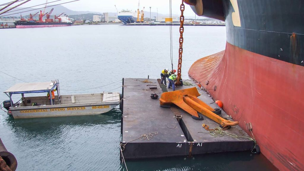 Ship Anchor And Chain Maintenance