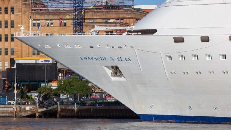 Ship Rhapsody Of The Seas