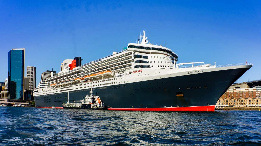 Ship Inspection Sydney Queen Mary 2