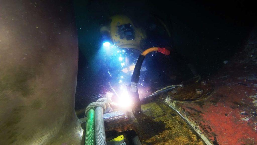 Ship Underwater Maintenance