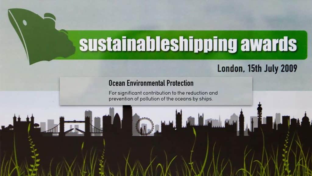 Sustainable Shipping Awards