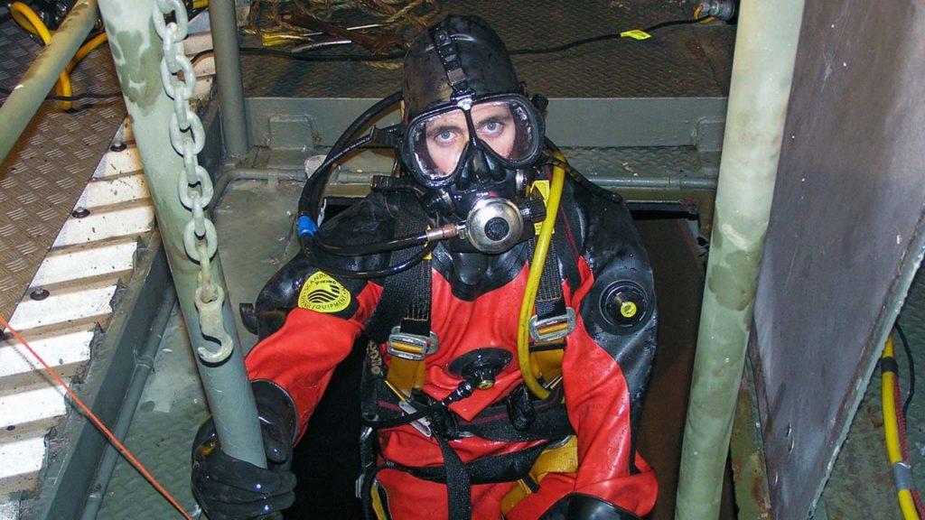 Tim Johnson Dive Suit