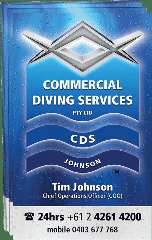 Tim Johnson Business Card
