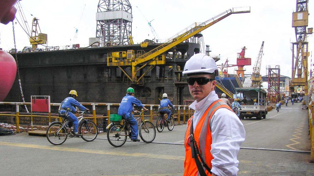 Tim Johnson Singapore Drydock