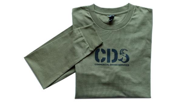 Tshirt Cds Ls Army Front