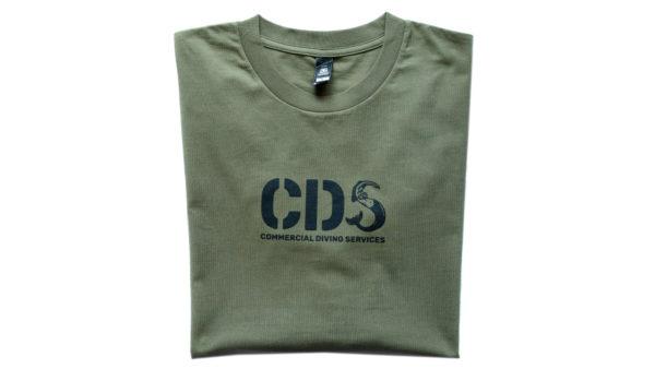 Tshirt Cds Ls Army Front Print