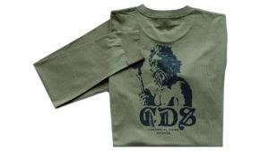 Tshirt Triton Ls Army Back