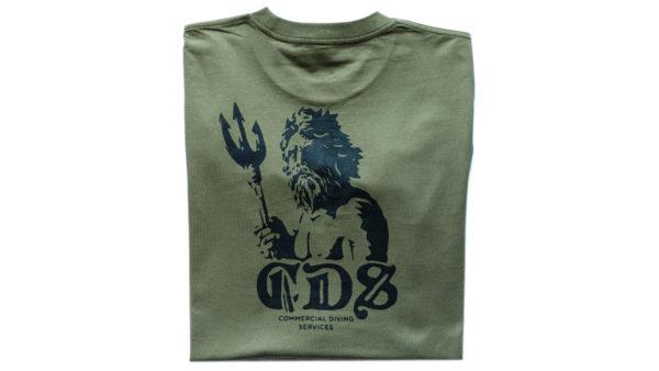 Tshirt Triton Ls Army Back Print