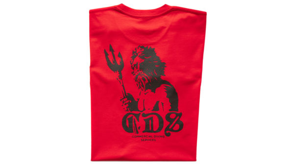 Tshirt Triton Ss Red Back