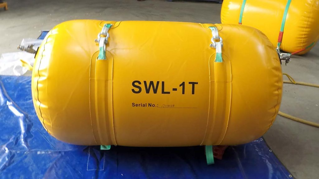 Underwater Air Lift Bag 1ton 1000kg Inflated