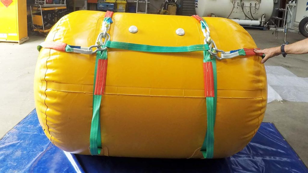 Underwater Air Lift Bag 2ton 2000kg Inflated