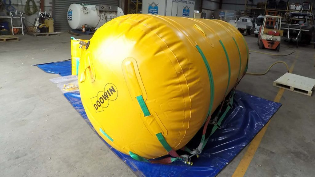 Underwater Air Lift Bag 5ton 5000kg Inflated