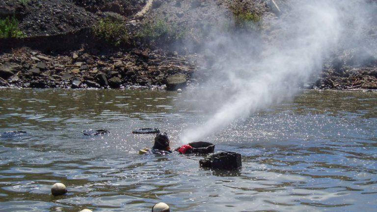 Underwater High Pressure Water Blasting