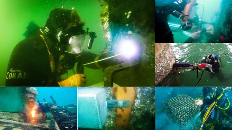 Underwater Maintenance and Construction