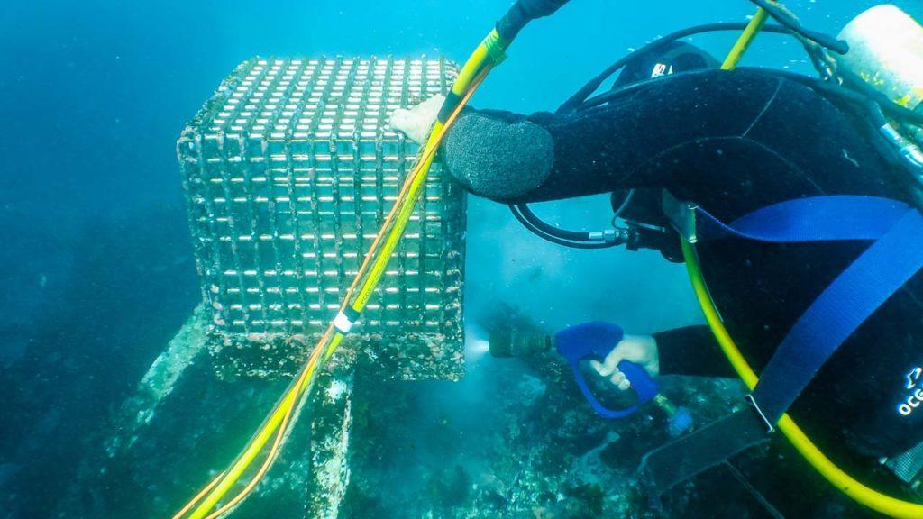 Underwater Pressure Blasting After
