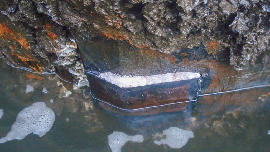 Underwater Welding Anode