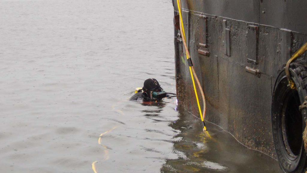 Underwater Welding Dock