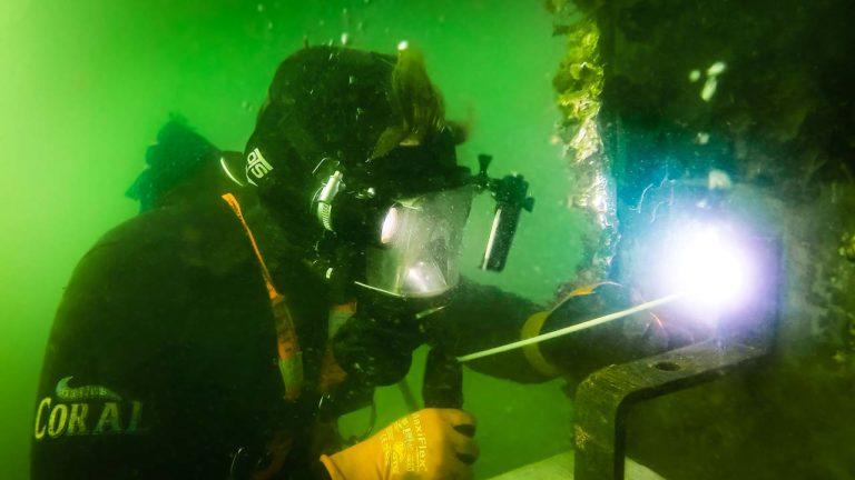 Underwater Welding Pile Anode