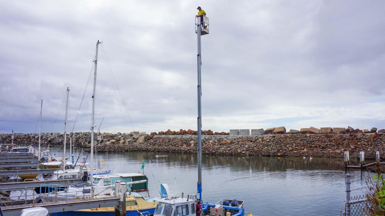 Vertical Elevated Work Platform High