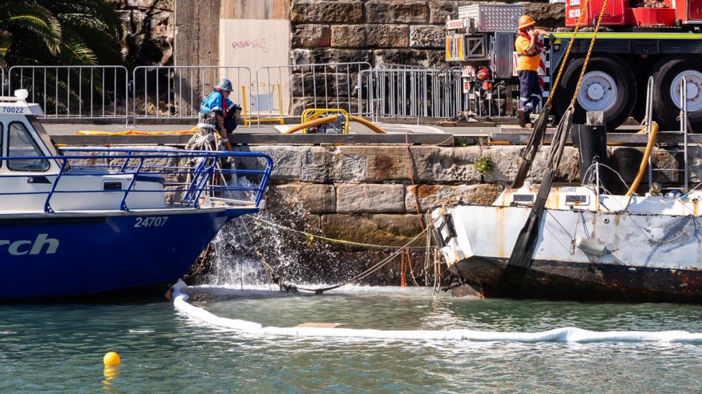 Yacht Salvage Water Draining Pump